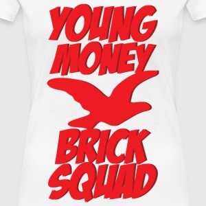 young money brick squad Women's T-Shirts - Women's Premium T-Shirt