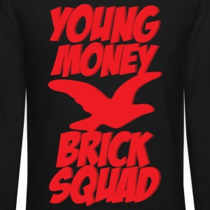 young money brick squad Long Sleeve Shirts - Crewneck Sweatshirt