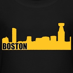 Boston Bruins Hockey Cup Skyline Apparel Kids' Shirts