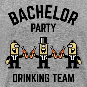 Bachelor Party Drinking Team (PNG / 4C) T-Shirts - Men's Premium T-Shirt