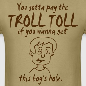 Troll Toll Boy's Hole T-Shirts - Men's T-Shirt