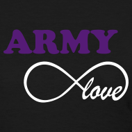 Design ~ ARMY Infinity Love - BLACK