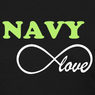 Design ~ NAVY Infinity Love - BLACK