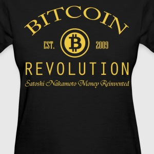 Women's Bitcoin Revolution T Shirt - Women's T-Shirt