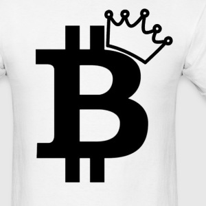 Bitcoin King Rap Nerd - Men's T-Shirt