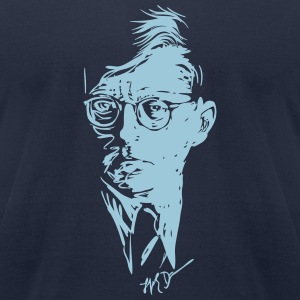Shostakovich drawing - American Apparel for him - Men's T-Shirt by American Apparel