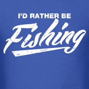id_rather_be_fishing T-Shirts - Men's T-Shirt