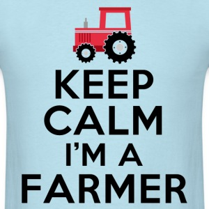 keep_calm_im_a_farmer T-Shirts - Men's T-Shirt