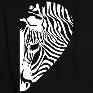 Zebra - Love couple right - Women's Hoodie