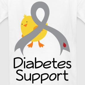 Diabetes Support Chick Kids' Shirts - Kids' T-Shirt