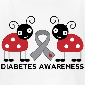 Diabetes Awareness Ladybug Kids' Shirts - Kids' T-Shirt