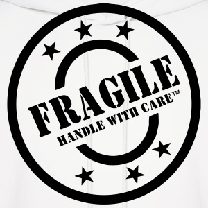 FRAGILE HANDLE WITH CARE Hoodies - Men's Hoodie
