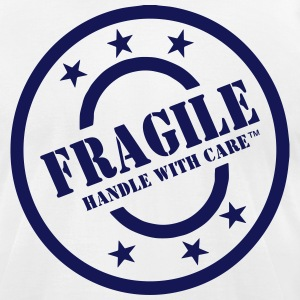 FRAGILE HANDLE WITH CARE T-Shirts - Men's T-Shirt by American Apparel