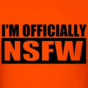 I'm Officially NSFW T-Shirts - Men's T-Shirt
