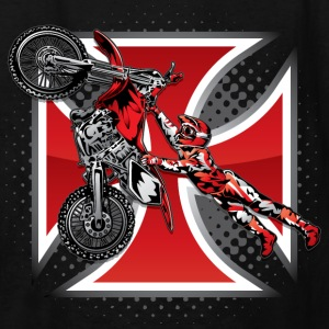 Red Baron Motocross Kids' Shirts - Kids' T-Shirt