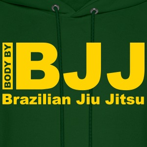 Body by BJJ Hoodies - Men's Hoodie