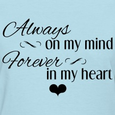 Always_Forever_Black Women's T-Shirts