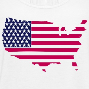 Map Flag Clothing Apparel Shirts Tanks - Women's Flowy Tank Top by Bella
