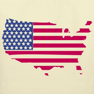 Map Flag Clothing Apparel Shirts Bags & backpacks - Eco-Friendly Cotton Tote