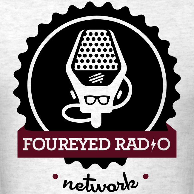 Four Eyed Radio Logo Tee (Light)