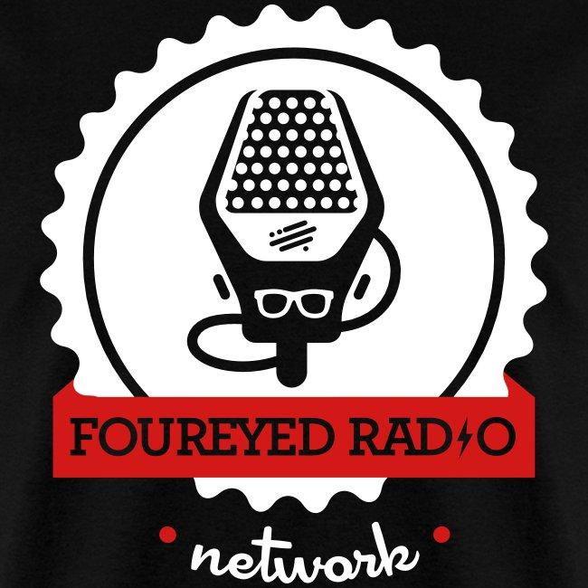Four Eyed Radio Logo Tee (Dark)