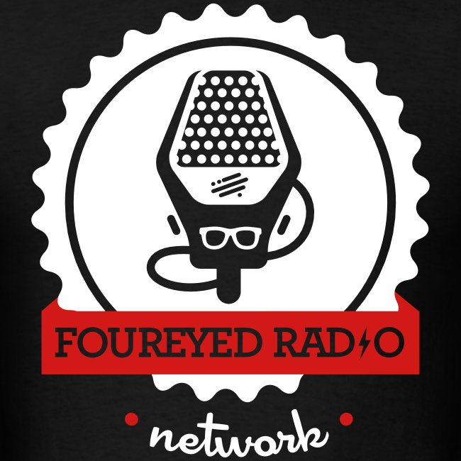Four Eyed Radio Logo Tee (Dark)