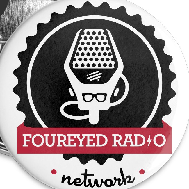 Four Eyed Radio Large Button
