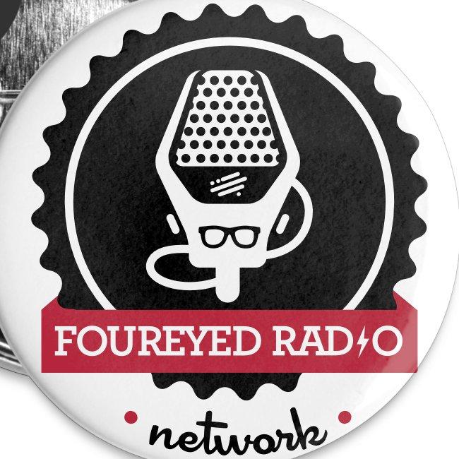 Four Eyed Radio Small Button