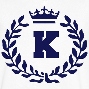 ROYAL KING  T-Shirts - Men's V-Neck T-Shirt by Canvas