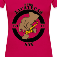 Design ~ Puro Zacatecas Sax #1   Dama