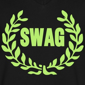 ROYAL SWAG T-Shirts - Men's V-Neck T-Shirt by Canvas