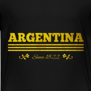 Vintage golden ARGENTINA since 1822 - Kids' Premium T-Shirt