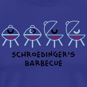 Schroedinger's Barbecue T-Shirts - Men's Premium T-Shirt