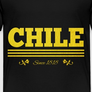 Vintage golden CHILE since 1818 - Toddler Premium T-Shirt