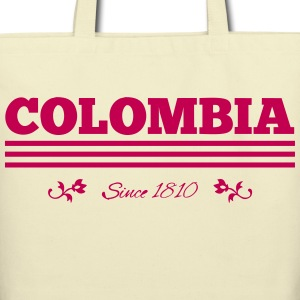 Vintage COLOMBIA since 1810 - Eco-Friendly Cotton Tote