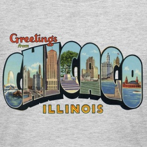 Greetings Chicago Illinois Apparel Long Sleeve Shirts - Women's Long Sleeve Jersey T-Shirt
