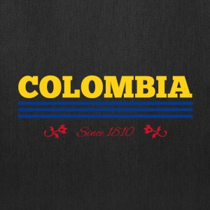 Vintage colorized flag COLOMBIA since 1810 - Tote Bag