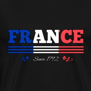 Vintage FRANCE since 1792 - Men's Premium T-Shirt
