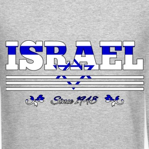 Vintage Colorized Flag ISRAEL since 1948 - Crewneck Sweatshirt