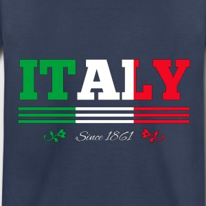Vintage Colorized Flag Italy since 1861 - Toddler Premium T-Shirt