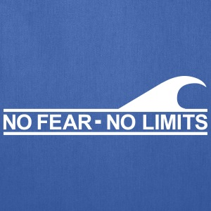 Surf - No fear no limits Bags & backpacks - Tote Bag