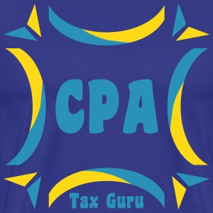 CPA Tax Guru T-Shirts - Men's Premium T-Shirt