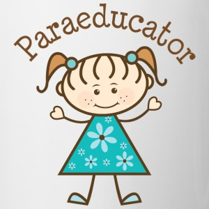 Paraeducator Stick Figure Bottles & Mugs - Coffee/Tea Mug