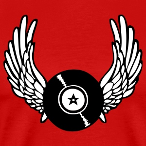 Winged Record - Men's Premium T-Shirt