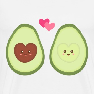 Cute Avocado In Love - Men's Premium T-Shirt