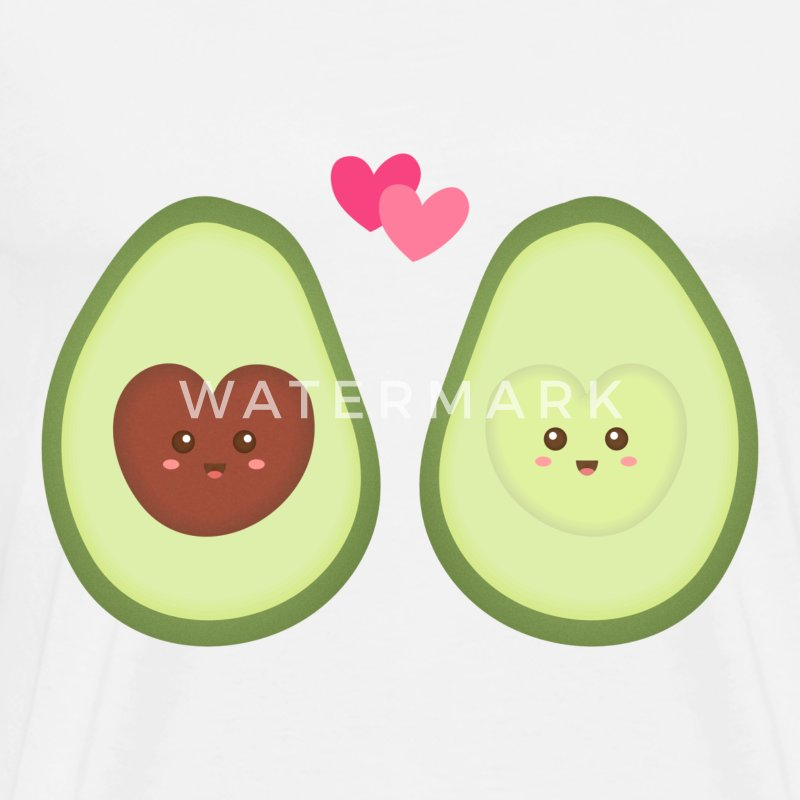 Cute Avocado In Love T-Shirt