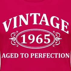 vintage 1965 aged to perfection Women's T-Shirts