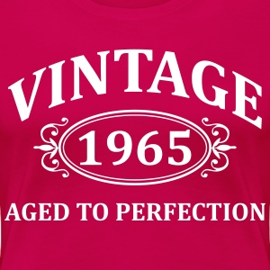vintage 1965 aged to perfection Women's T-Shirts - Women's Premium T-Shirt