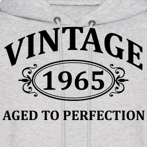 vintage 1965 aged to perfection Hoodies - Men's Hoodie