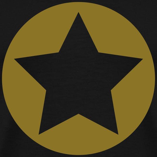 Black Star Shirt w/Gold